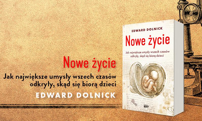 """Okładka książki """"Nowe życie"""" /Ciekawostki Historyczne"""