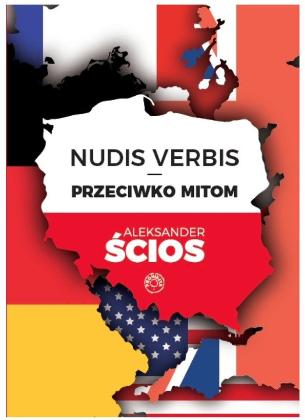 """Okładka książki """"Nudis Verbis"""" /Materiały prasowe"""