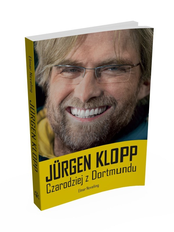 Okładka książki o Juergenie Kloppie /Informacja prasowa