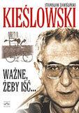 Okładka książki o Krzysztofie Kieślowskim /