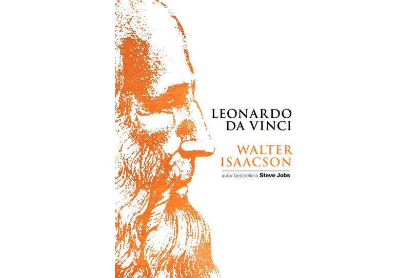 Okładka książki o Leonardo da Vinci /materiały prasowe