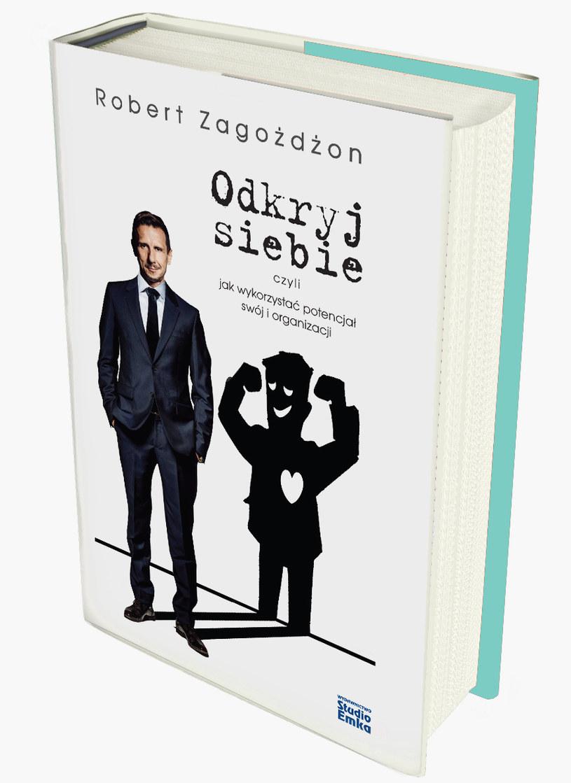 """Okładka książki """"Odkryj siebie"""" /materiały prasowe"""