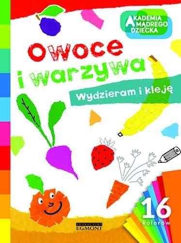 """Okładka książki """"Owoce i warzywa"""" /materiały prasowe"""