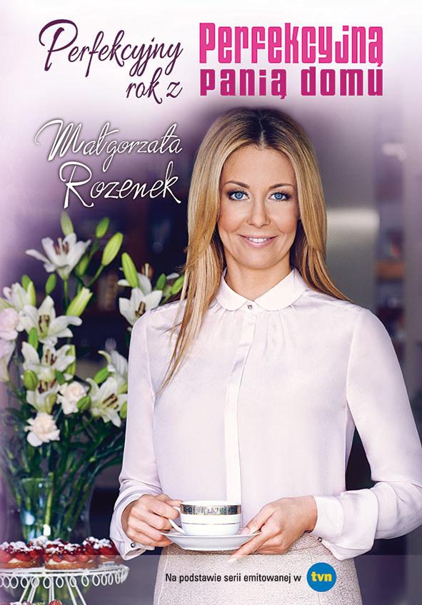 """Okładka książki """"Perfekcyjny rok z Perfekcyjną panią domu"""" /materiały prasowe"""