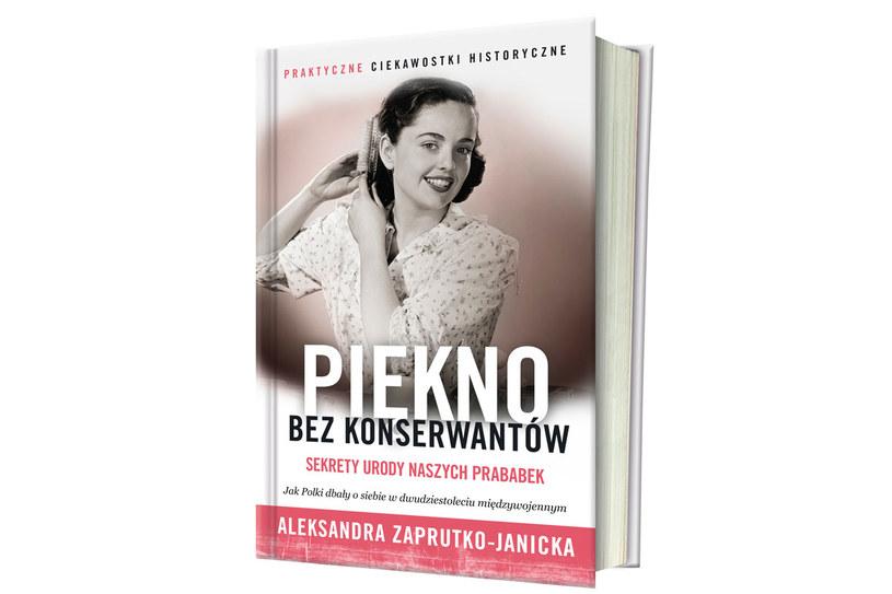 """Okładka książki """"Piękno bez konserwantów"""" /materiały prasowe"""