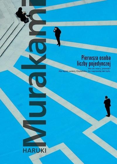 """Okładka książki """"Pierwsza osoba liczby pojedynczej"""" /materiały prasowe"""