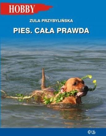 """Okładka książki """"Pies. Cała prawda"""" /materiały promocyjne"""
