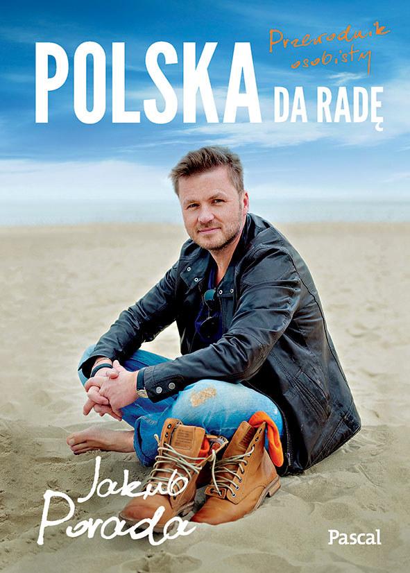 """Okładka książki """"Polska da radę"""" /materiały prasowe"""