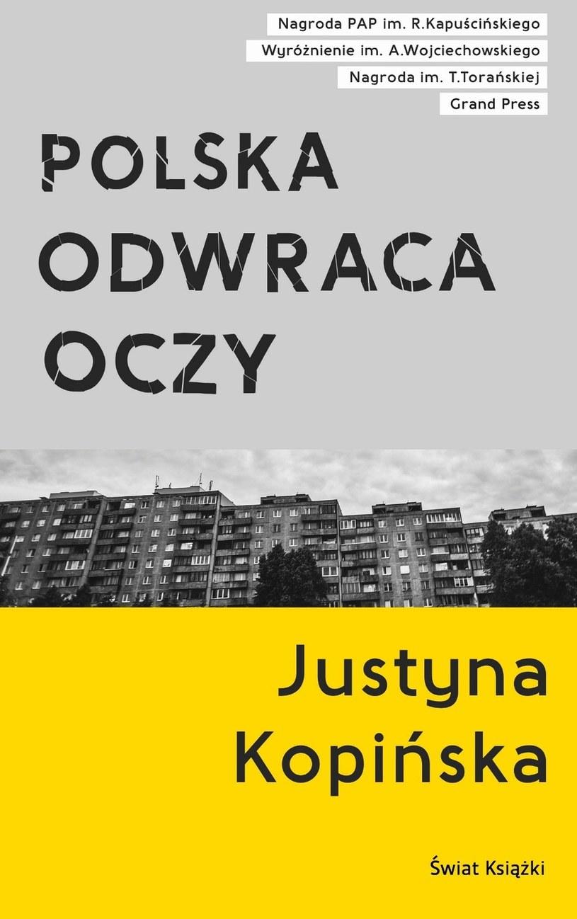 """Okładka książki """"Polska odwraca oczy"""" / Świat Książki /"""
