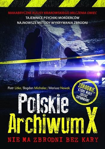 """Okładka książki """"Polskie Archiwum X"""" /materiały prasowe"""