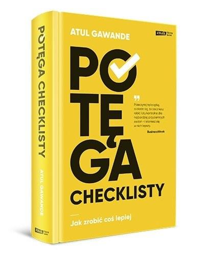 """Okładka książki """"Potęga checklisty"""" /materiały prasowe"""