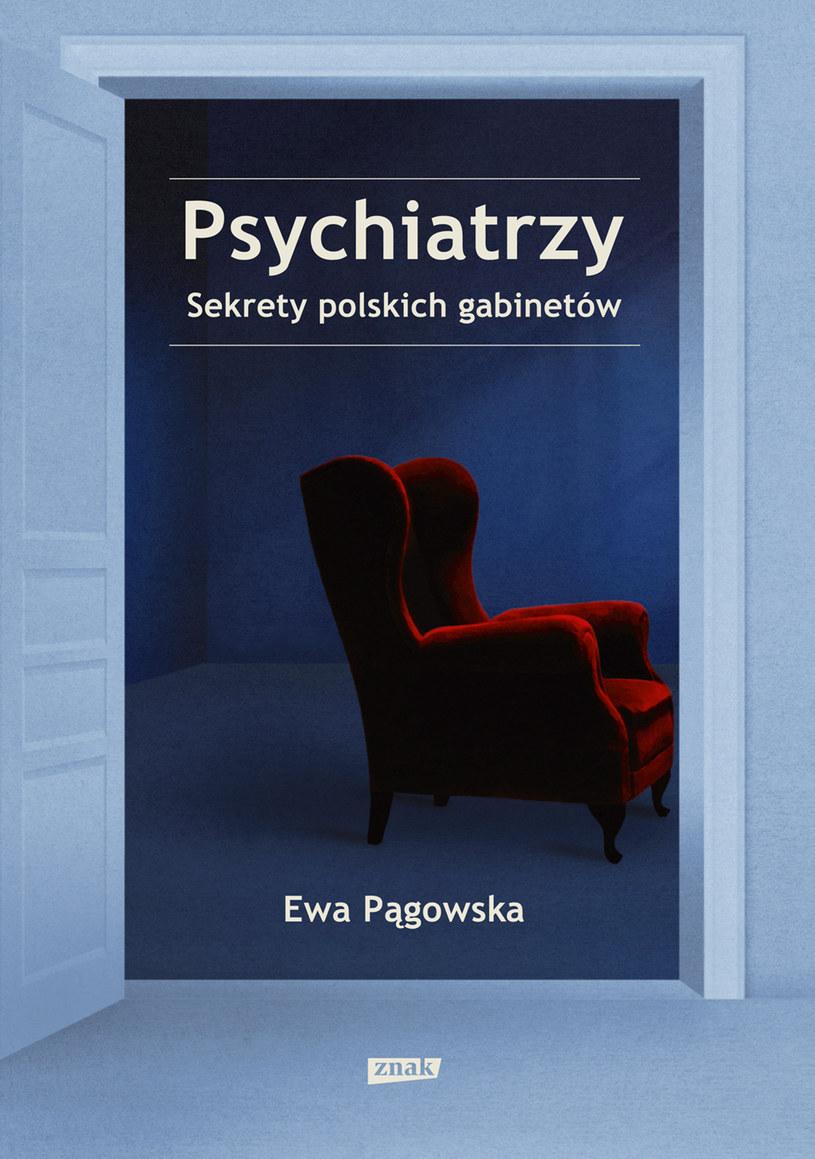 """Okładka książki """"Psychiatrzy. Sekrety polskich gabinetów"""" /materiały prasowe"""
