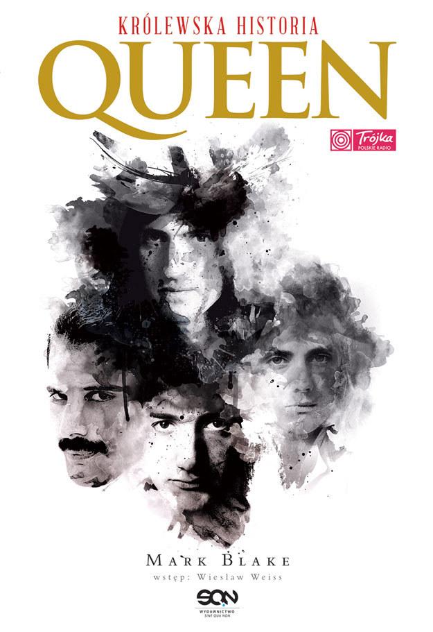 "Okładka książki ""Queen. Królewska historia"" /"
