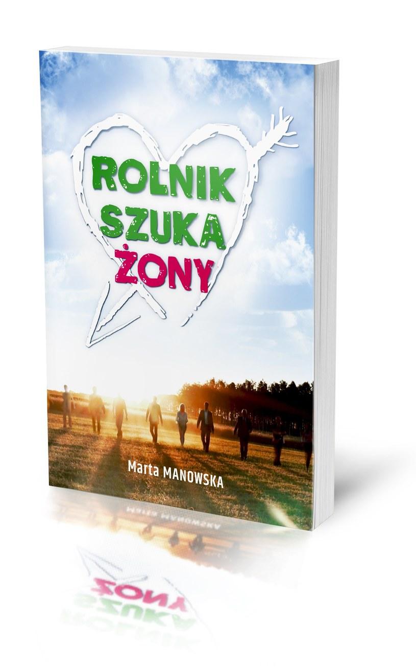 """Okładka książki """"Rolnik szuka żony"""" /TVP"""