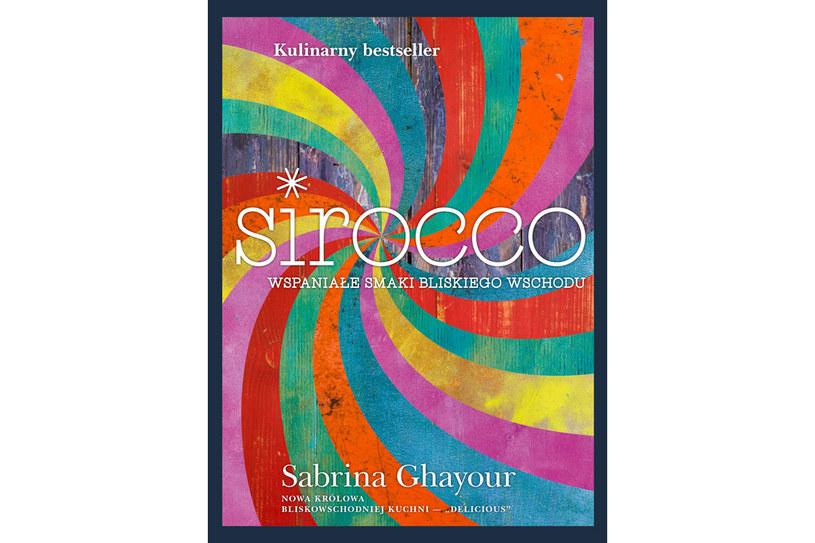 """Okładka książki Sabriny Ghayour """"Sirocco"""" /materiały prasowe"""