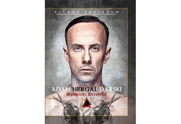 """Okładka książki """"Sacrum Profanum - spowiedź heretyka"""" /"""