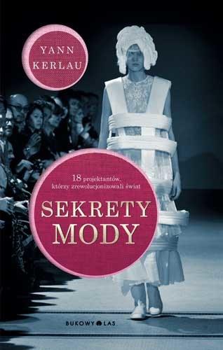 """Okładka książki """"Sekrety mody"""" /materiały prasowe"""