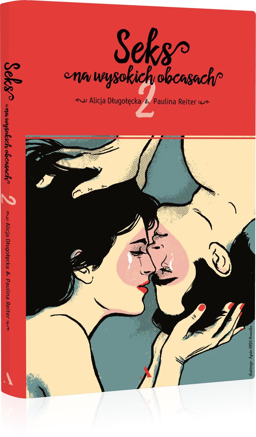 """Okładka książki """"Seks na wysokich obcasach 2"""" /materiały prasowe"""