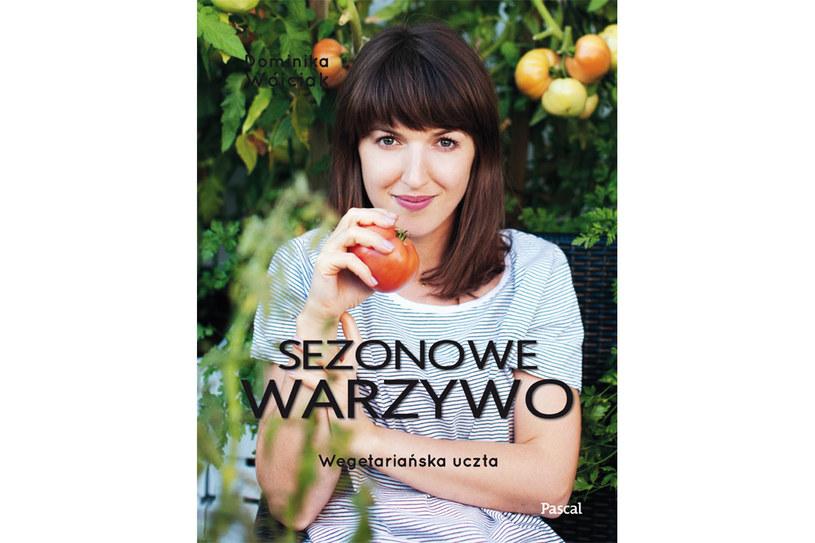 """Okładka książki """"Sezonowe warzywo"""" Dominiki Wójciak /materiały prasowe"""