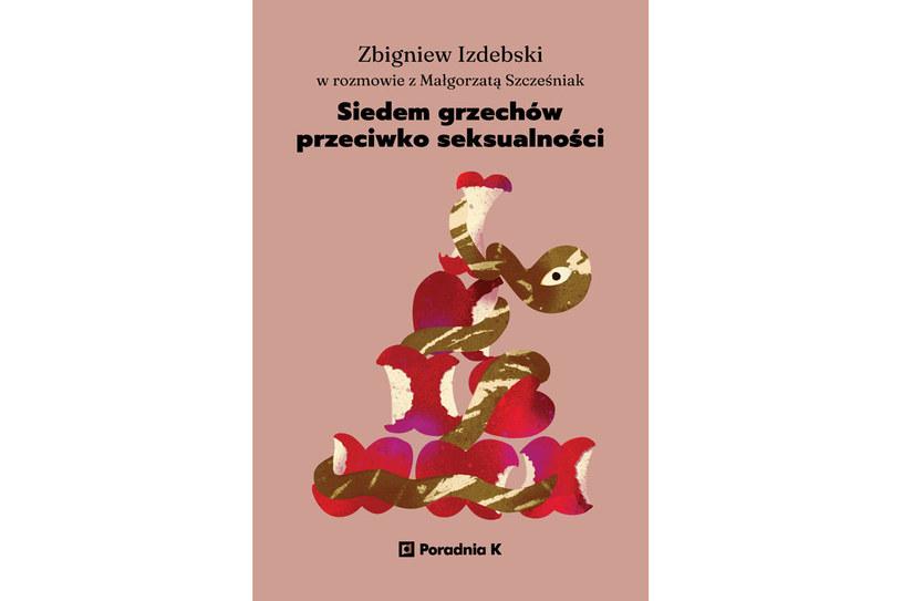 """Okładka książki """"Siedem grzechów przeciowko seksualności"""" /materiały prasowe"""