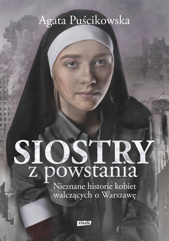 """Okładka książki """"Siostry z powstania"""" /materiały prasowe"""