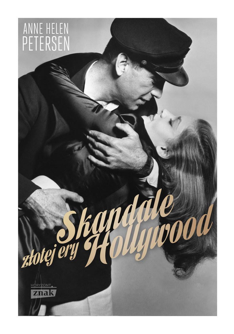 """Okładka książki """"Skandale złotej ery Hollywood"""" /materiały prasowe"""