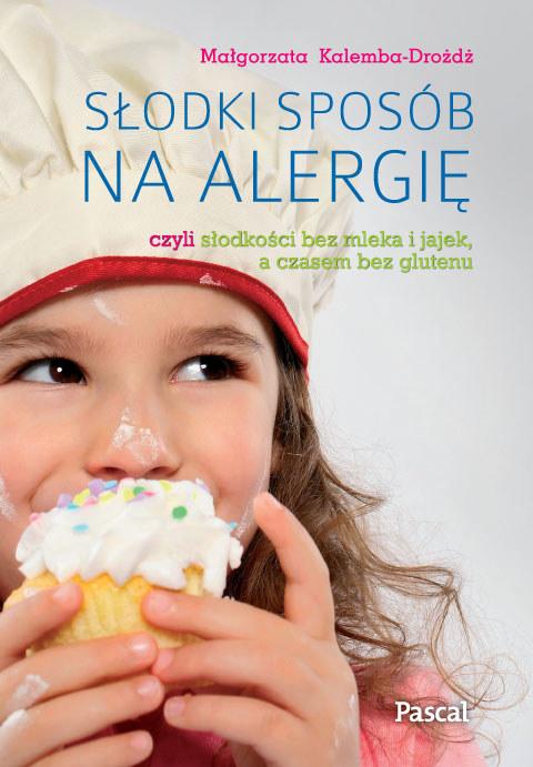 """Okładka książki """"Słodki sposób na alergię"""" /INTERIA.PL/materiały prasowe"""