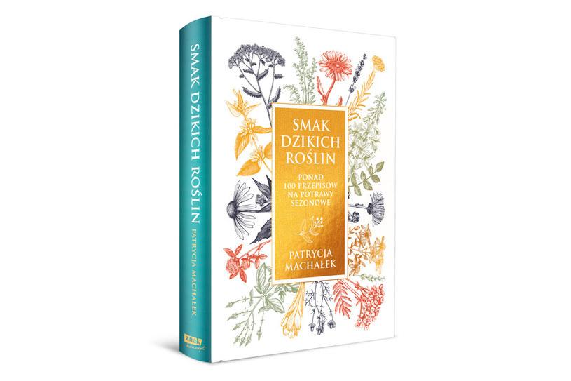 """Okładka książki """"Smak dzikich roślin"""" /materiały prasowe"""
