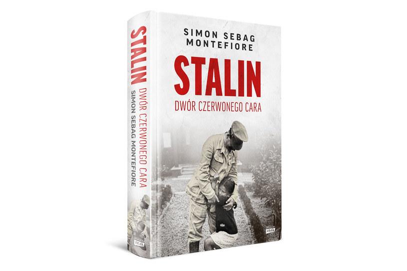"""Okładka książki """"Stalin. Dwór czerwonego cara"""" /materiały prasowe"""
