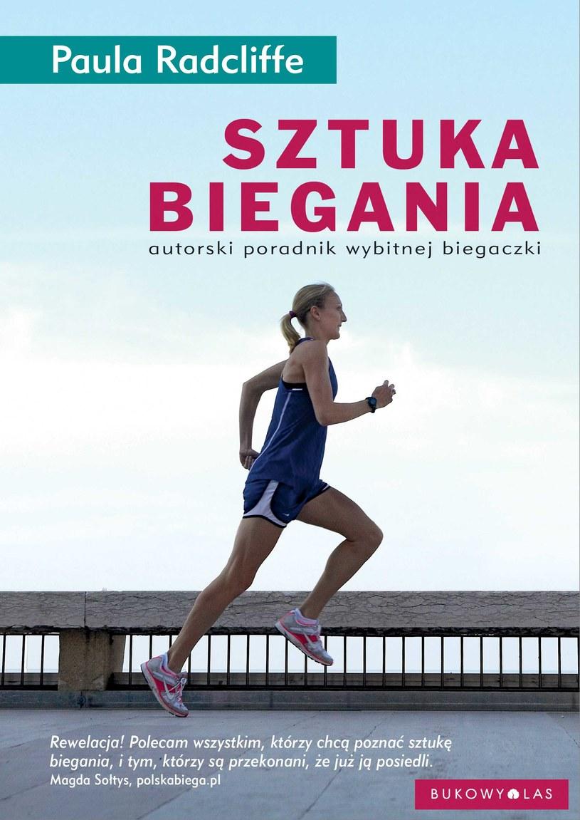 """Okładka książki """"Sztuka biegania"""" Pauli Radcliffe /materiały prasowe"""