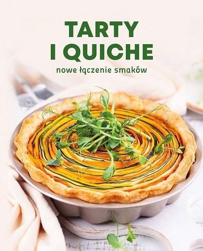 """Okładka książki """"Tarty i quiche"""" /materiały prasowe"""