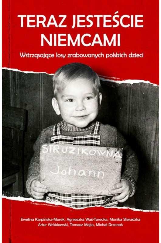 """Okładka książki """"Teraz jesteście Niemcami"""" (Wydawnictwo M) /INTERIA.PL"""