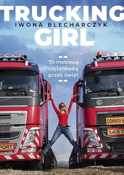 """Okładka książki """"Trucking Girl"""" /materiały prasowe"""