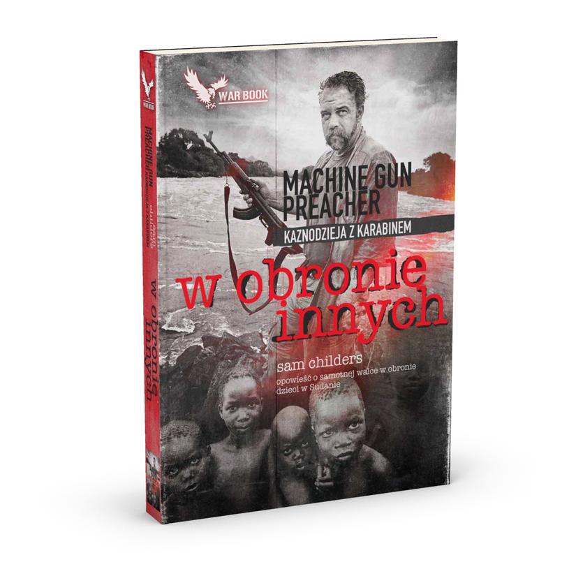 """Okładka książki """"W obronie innych"""" /materiały promocyjne"""