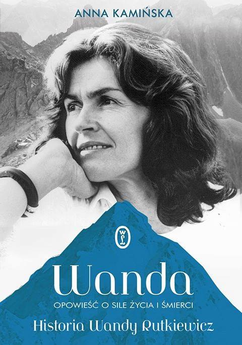 """Okładka książki """"Wanda. Opowieść o sile życia i śmierci"""" autorstwa Anny Kamińskiej /Materiały prasowe"""