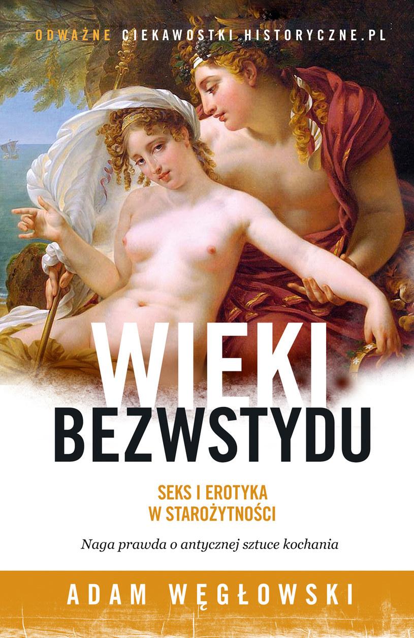 """Okładka książki """"Wieki bezwstydu"""" /materiały prasowe"""