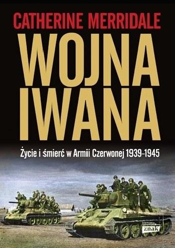 """Okładka książki """"Wojna Iwana"""" /materiały prasowe"""