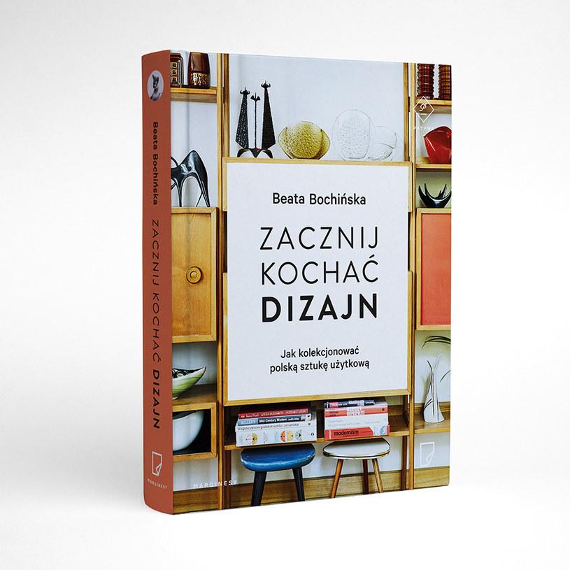 """Okładka książki """"Zacznij kochać dizajn"""" /materiały prasowe"""