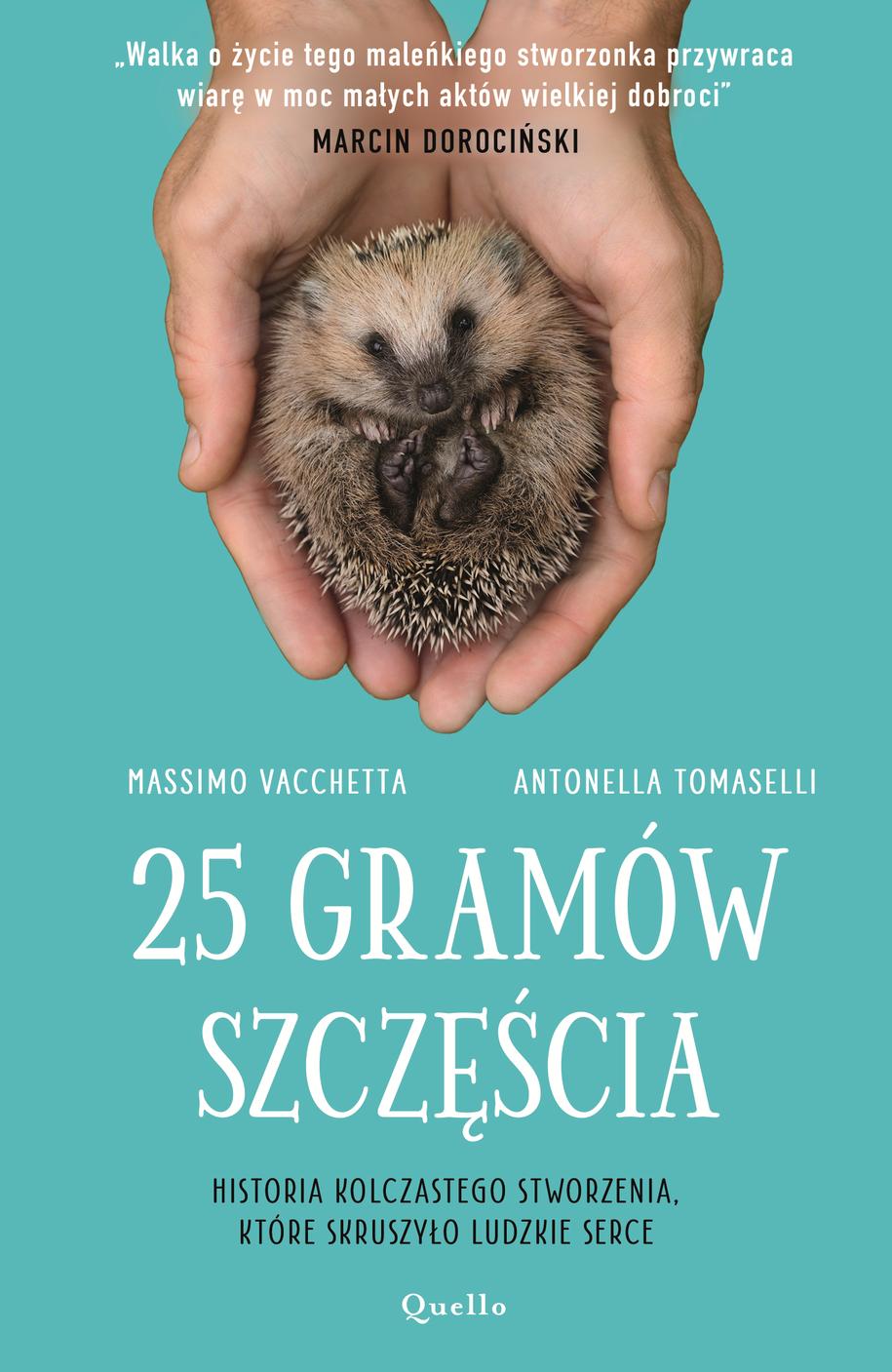 Okładka książki /Wydawnictwo Quello /Materiały prasowe