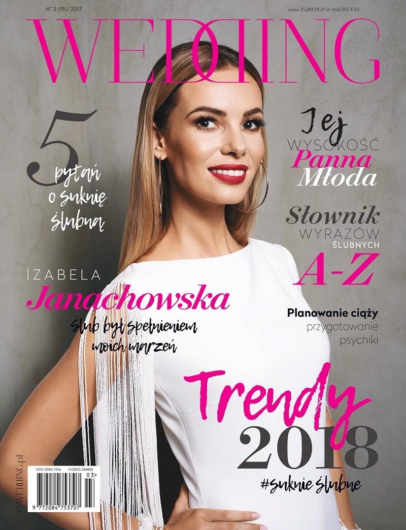 Okładka magazynu Wedding /Wedding