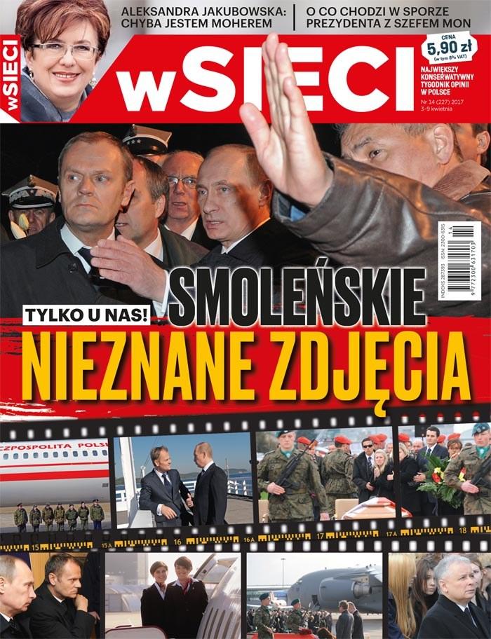"""Okładka najnowsze wydania """"wSieci"""" /Materiały prasowe"""