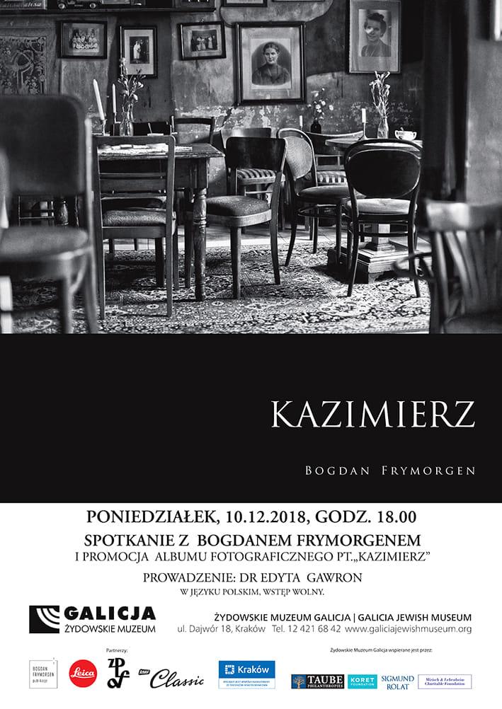 Okładka najnowszego albumu o Kazimierzu londyńskiego korespondenta RMF FM /Bogdan Frymorgen /RMF FM