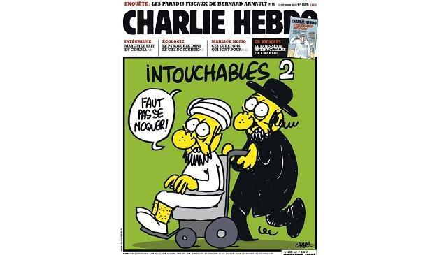 """Okładka najnowszego """"Charlie Hebdo"""", dostępna już w internecie /AFP"""