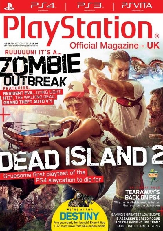 Okładka najnowszego numeru Oficjalnego Magazynu PlayStation. /materiały prasowe
