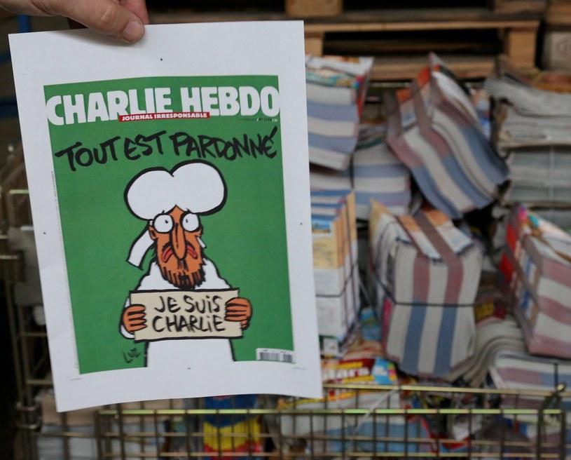 """Okładka najnowszego wydania """"Charlie Hebdo"""" /Agencja FORUM"""