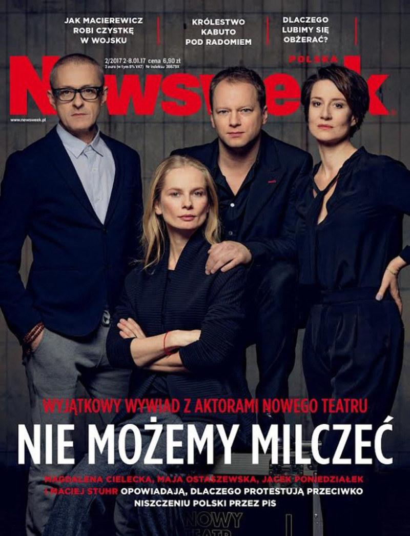 """Okładka """"Newsweeka"""" /- /materiały prasowe"""