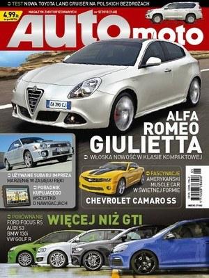 Okładka nowego numeru /Auto Moto