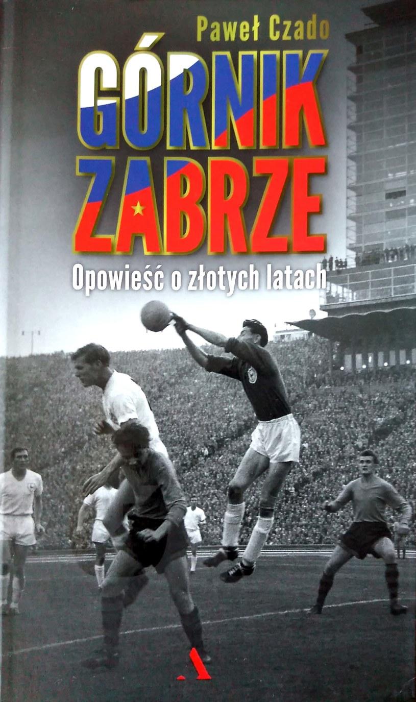 Okładka nowej książki o Górniku /