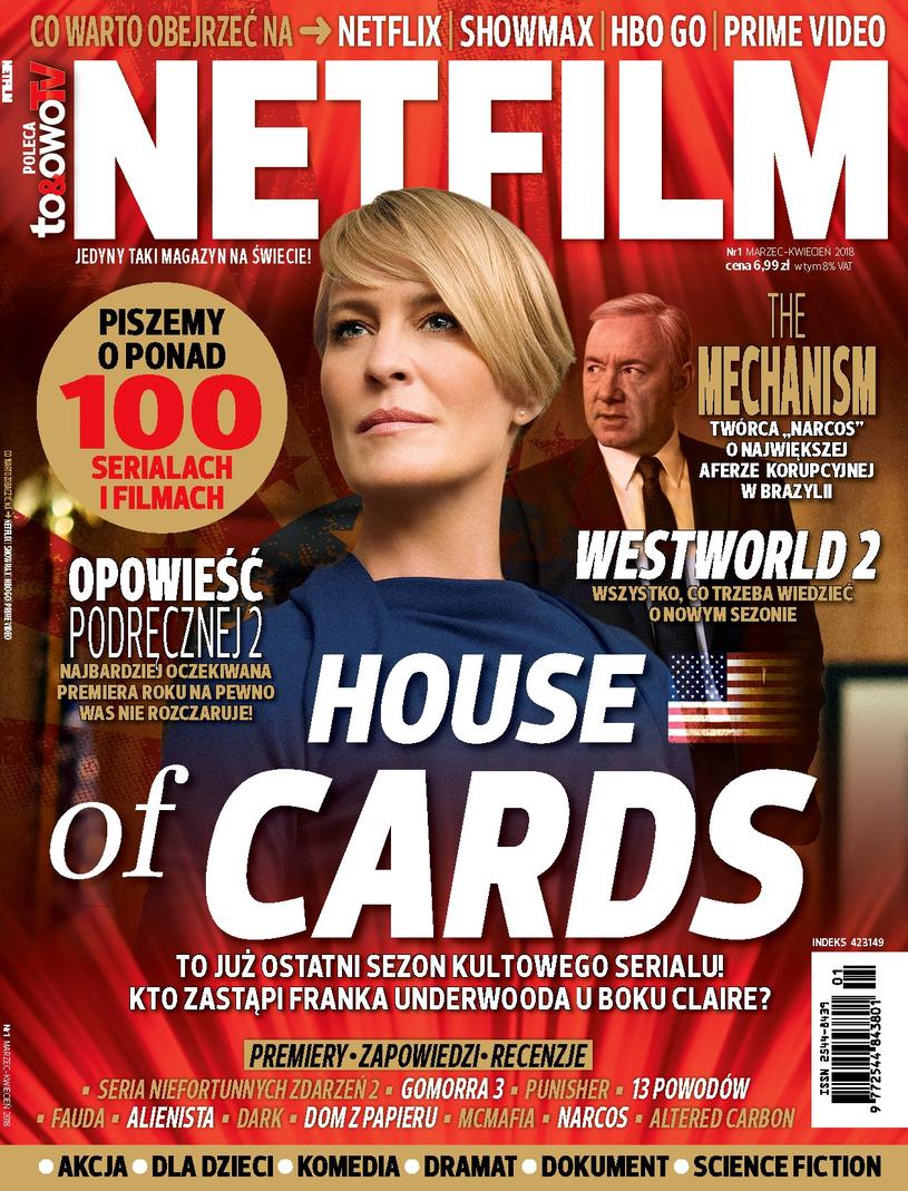 """Okładka pierwszego numeru magazynu """"Netfilm"""" /Bauer"""