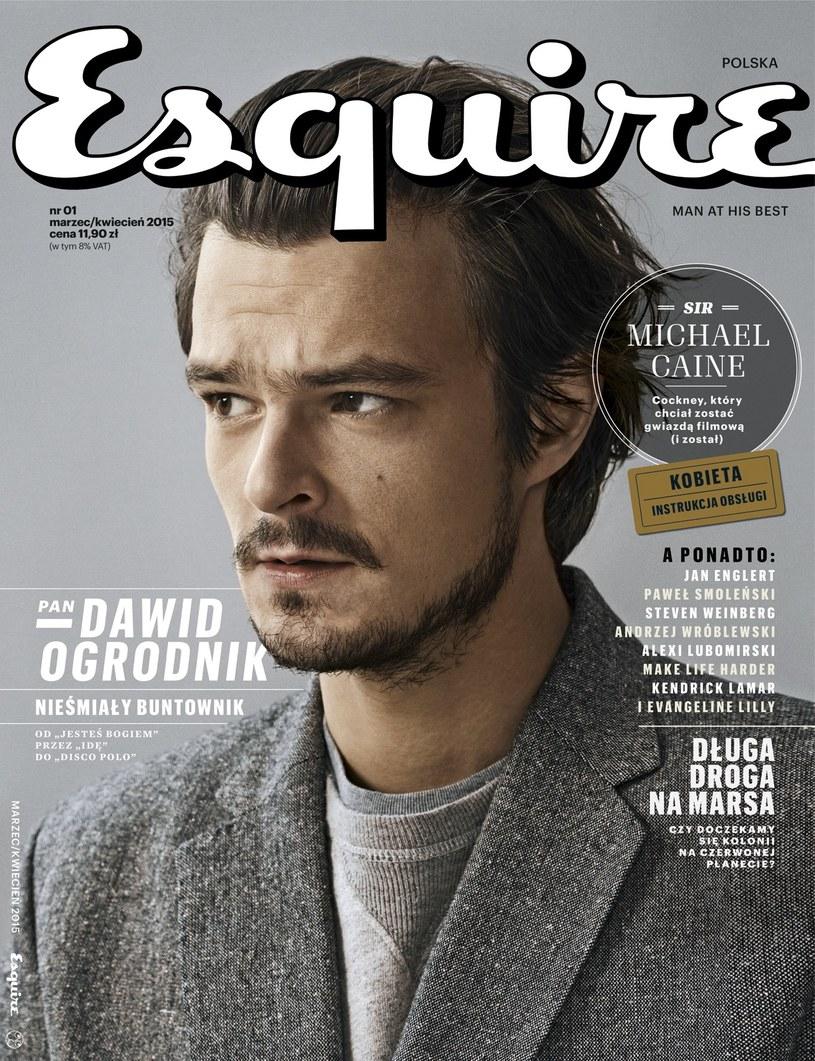 Okładka pierwszego polskiego numeru Esquire /materiały prasowe